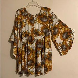 New suns flower dress